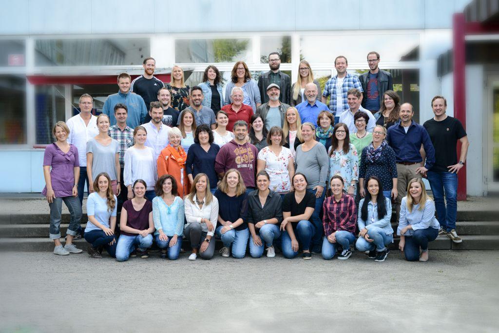 Lehrerkollegium im Schuljahr 2018-2019
