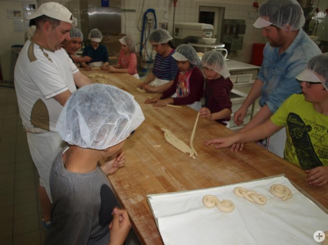 Besuch Bäckerei Brantner