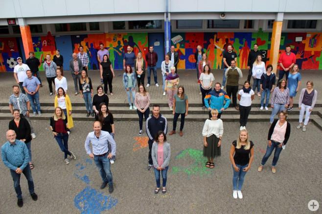Lehrerkollegium Schuljahr 2020-2021